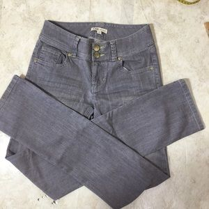 CAbi Gray Skinny Jeans Style 332